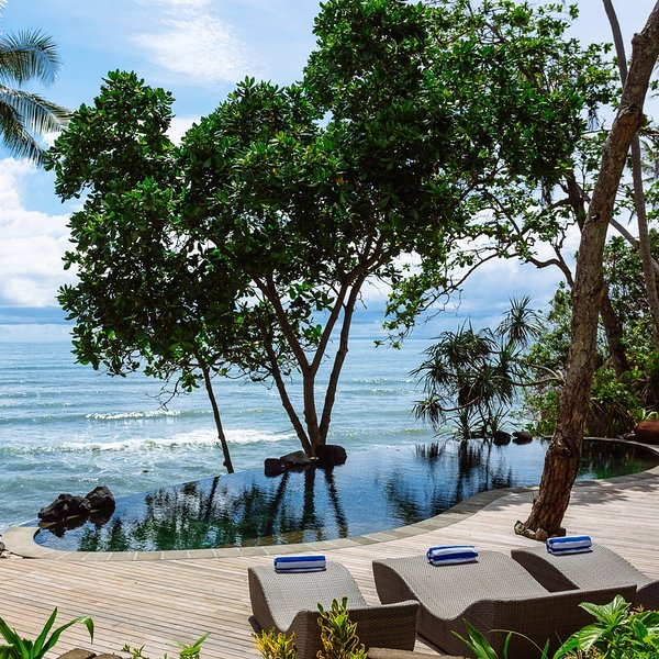 The cove bali on the beach private chef swimming pool - Summer house with swimming pool review ...