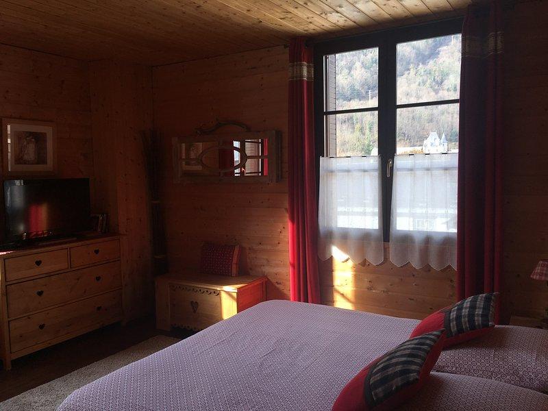 Suite Le Vénasque - Chambre d'Hôtes 'Au delà du temps' à Bagnères de Luchon, holiday rental in Saint-Mamet