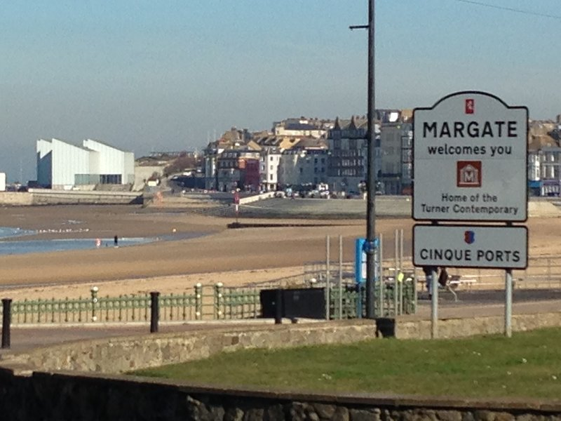 Margate welcomes you! Home of the Turner Contemporary. Cinque Port.