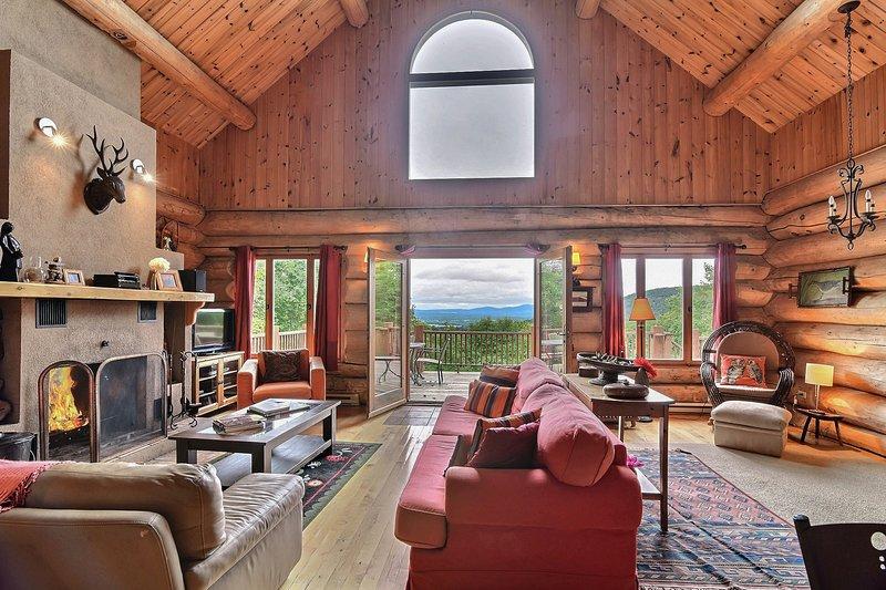 Spectacular Mountain Lodge com vista deslumbrante. O refúgio perfeito para as suas férias!