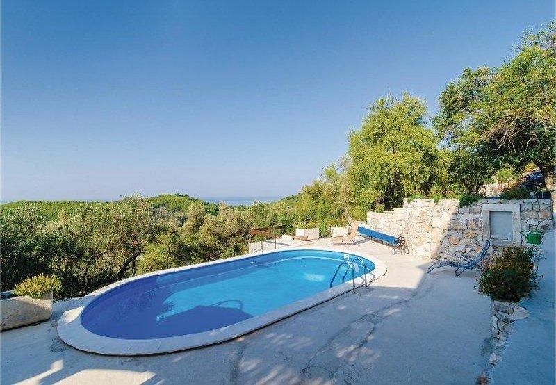 Stone - pool house: H(4) - Babino Polje, casa vacanza a Mljet National Park