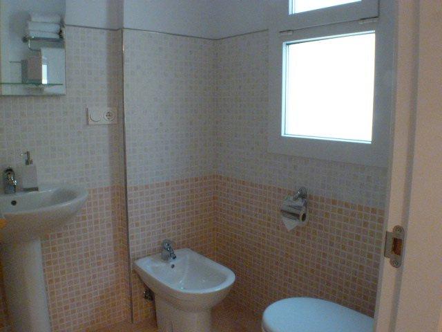 cuarto de bano en suite
