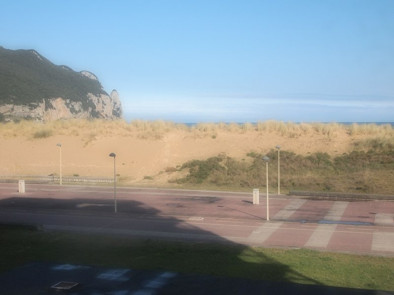Views of the dunes and the sea