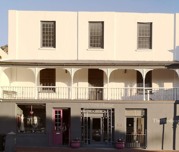 The historical Bayview House circa 1803. Beautifully restored. The apartment is on the top floor.