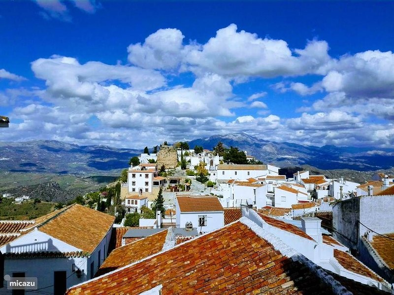 Comares, pearl of the Axarquia.