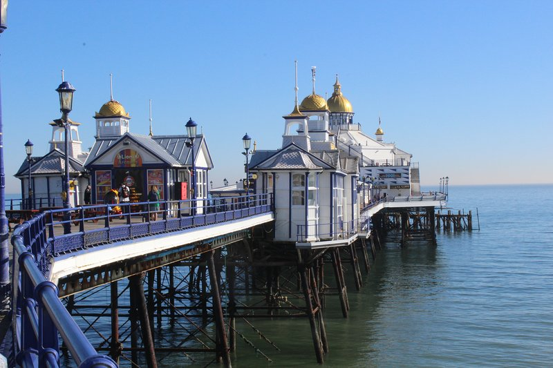 The Pier with all its amusement arcades and cafes