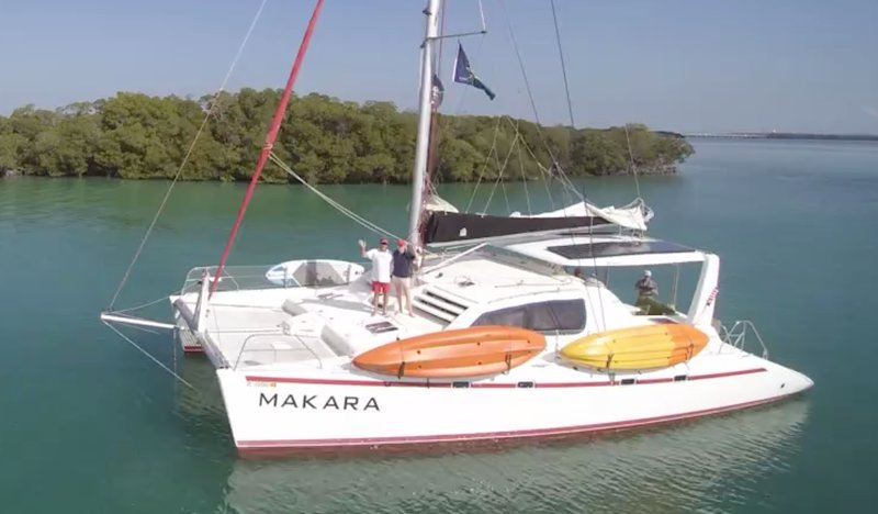 Spacious 3BR/3BA Catamaran as Private Sailing Charter up to 7 nights in Key West, holiday rental in Key West