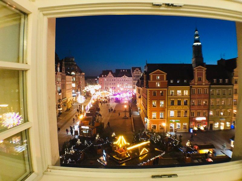 CityAparts-Private Apt-Main Sqr.-Rynek-Self Check-in, holiday rental in Sobotka