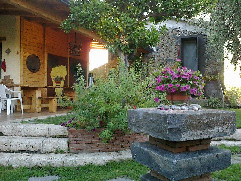 Nice house with pool access, holiday rental in Santa Venerina
