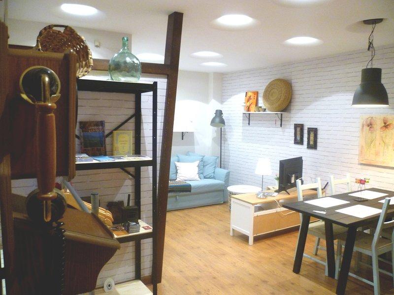 Apartamento Corazon de Logroño. Garage gratis, alquiler de vacaciones en Logroño