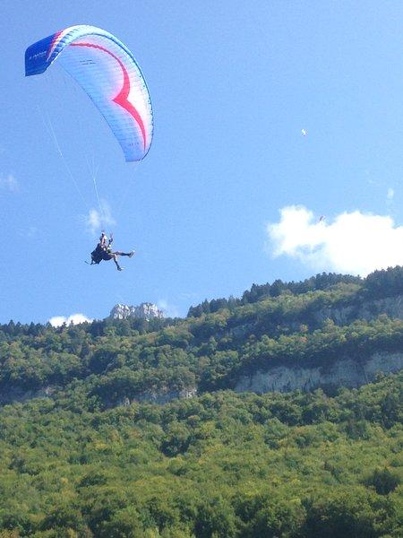 Paragliding paradise