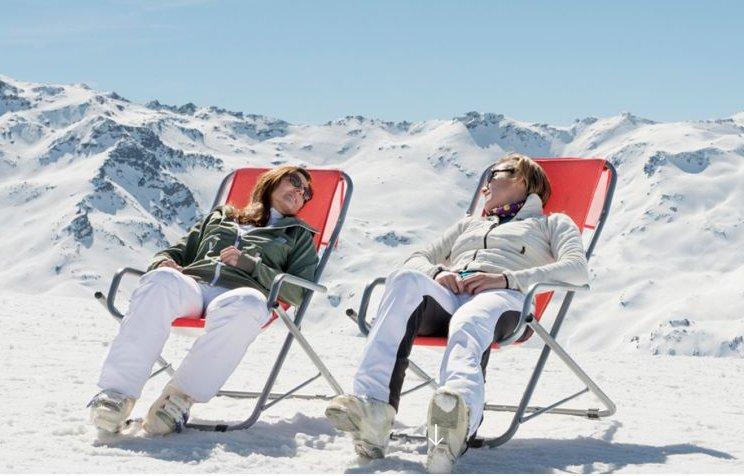 Nearby ski stations of Grand Bornand and La Clusaz