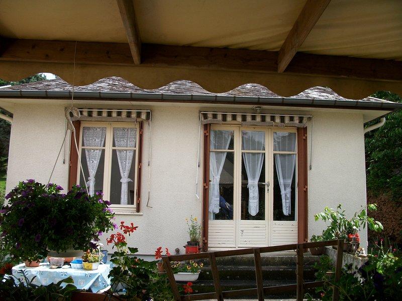 Nice house with garden & terrace, alquiler vacacional en La Croix-en-Touraine