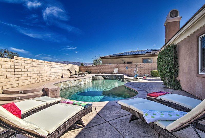 Book now to enjoy the private, luxurious outdoor oasis at this exceptional home!