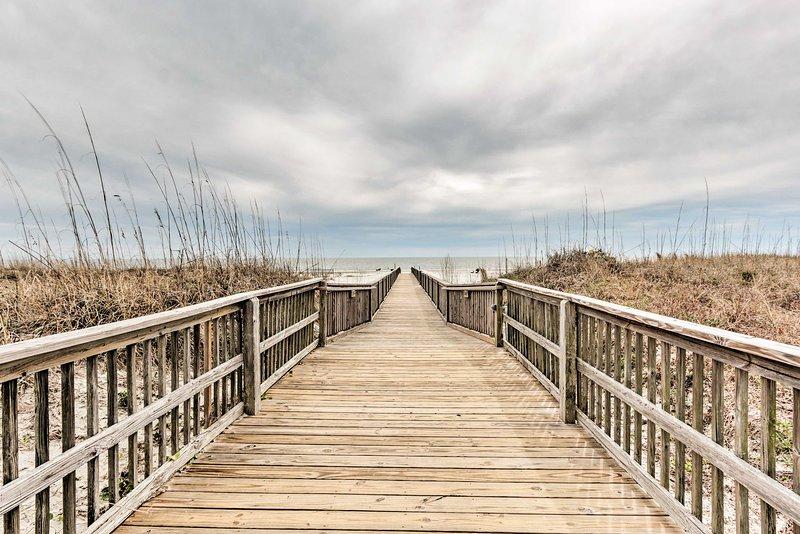 Fai una passeggiata fino a Hilton Head Island Beach!