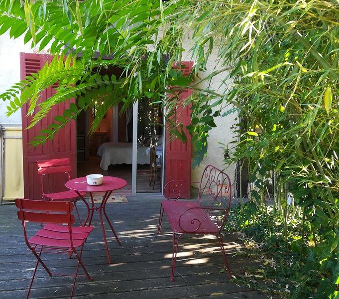 Meublé de tourisme 'Les Bambous', holiday rental in Bort-l'Etang