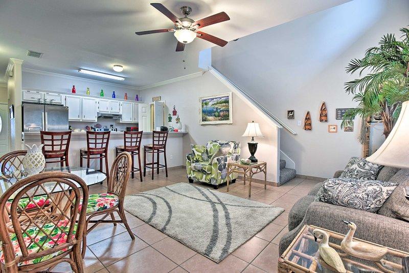 You'll love the open-concept floor plan.