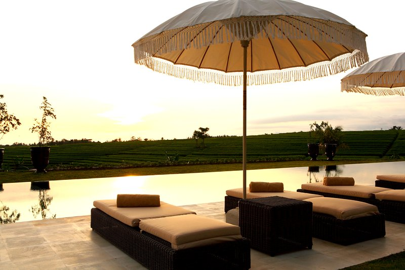 1 BR - Serenity RICE FIELD villa with panoramic view, holiday rental in Tabanan