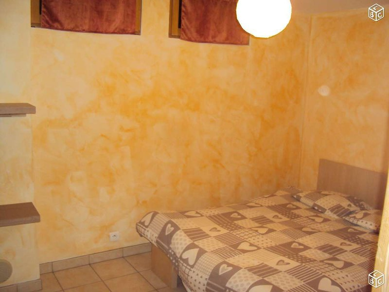 Beautiful apt with mountain view, holiday rental in Saint Jean d'Arves