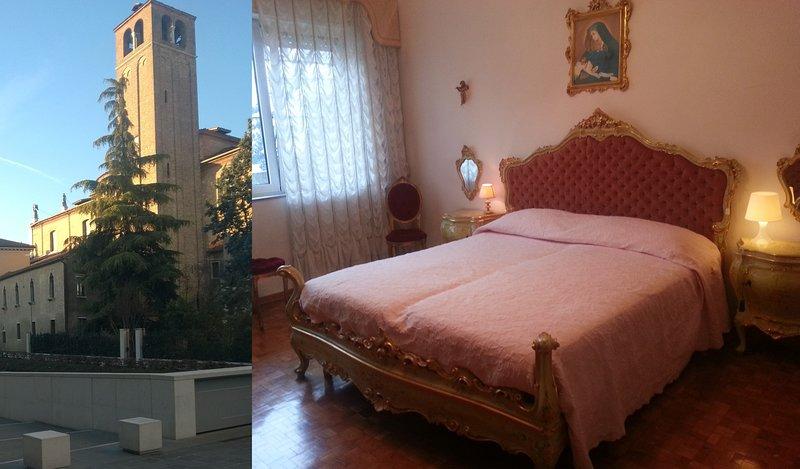 Casa Vittoria- Stylish Venetian Room with Private Bathroom, holiday rental in Favaro Veneto