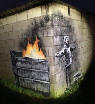Ilustraciones de Banksy a 10 minutos