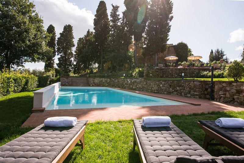 Villa Vittoria, vacation rental in Montaione