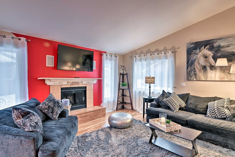 Rilassati in questa invitante casa per le vacanze per il tuo ritiro di Anchorage.