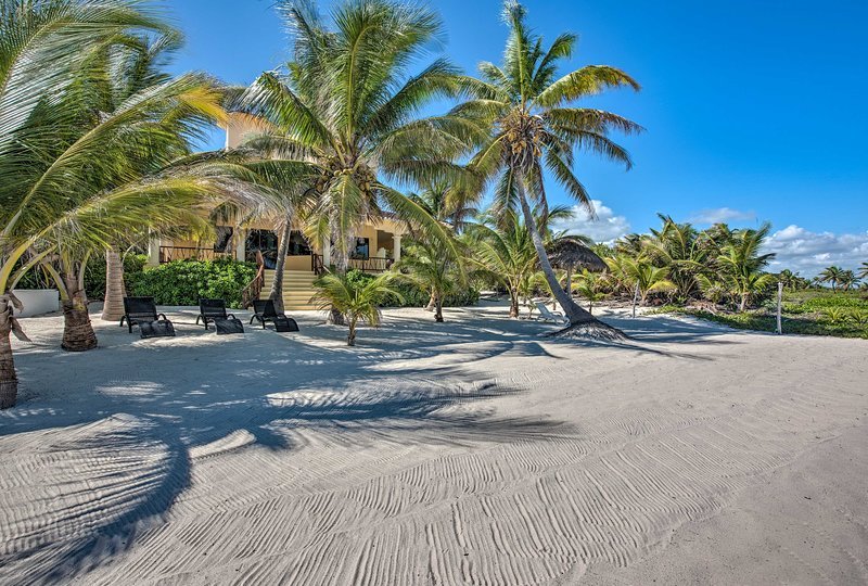 You'll never want to leave this beautifully maintained beach!