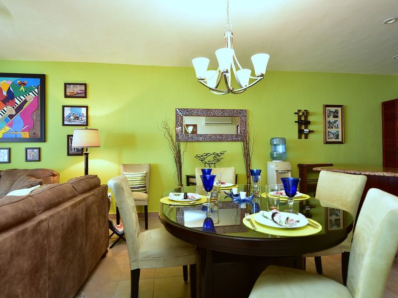Comfortable dining seating