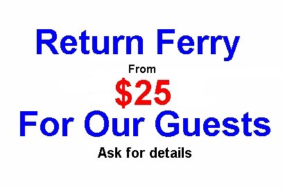 Ask about our ferry deals