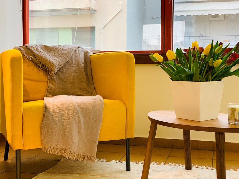 Deluxe Apartment in the center of Athens - Aerides, holiday rental in Kallithea