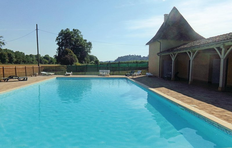Stunning home in Limeuil with Outdoor swimming pool and 2 Bedrooms (FAD297), holiday rental in Paunat
