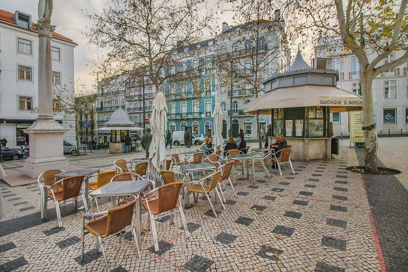 """""""Praça Camões"""", à seulement 2 minutes à pied de l'appartement"""