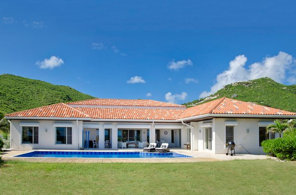 Villa HIBISCUS in Guana Bay, holiday rental in Philipsburg