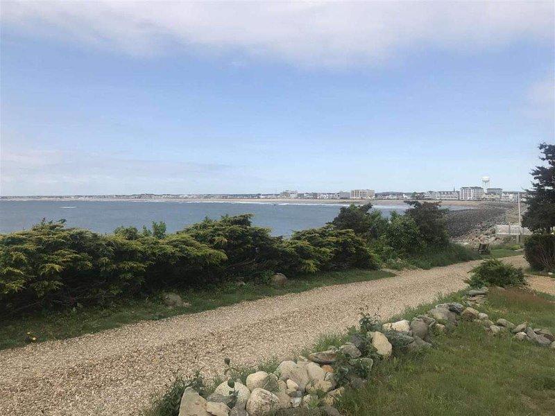 Prachtig uitzicht op de Atlantische Oceaan en Hampton Beach