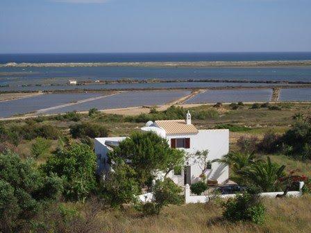 Charming villa with panoramic sea views, holiday rental in Fuseta