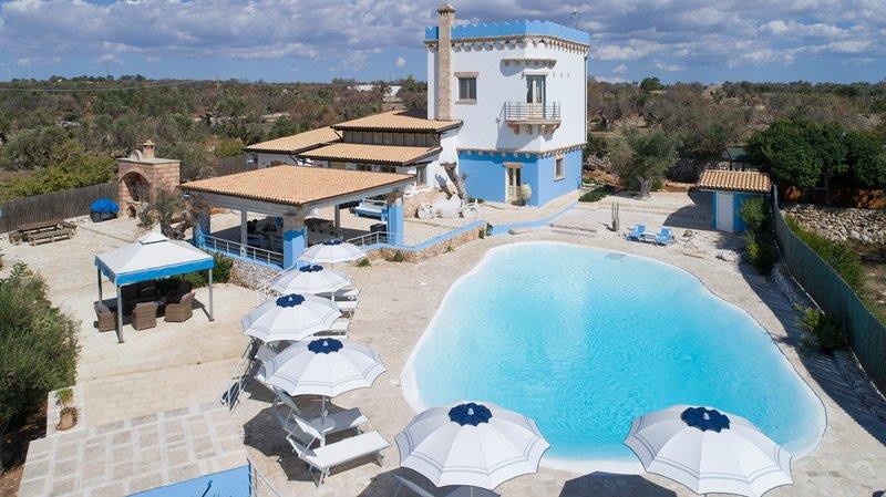 Villa Emilia, holiday rental in Torre Suda