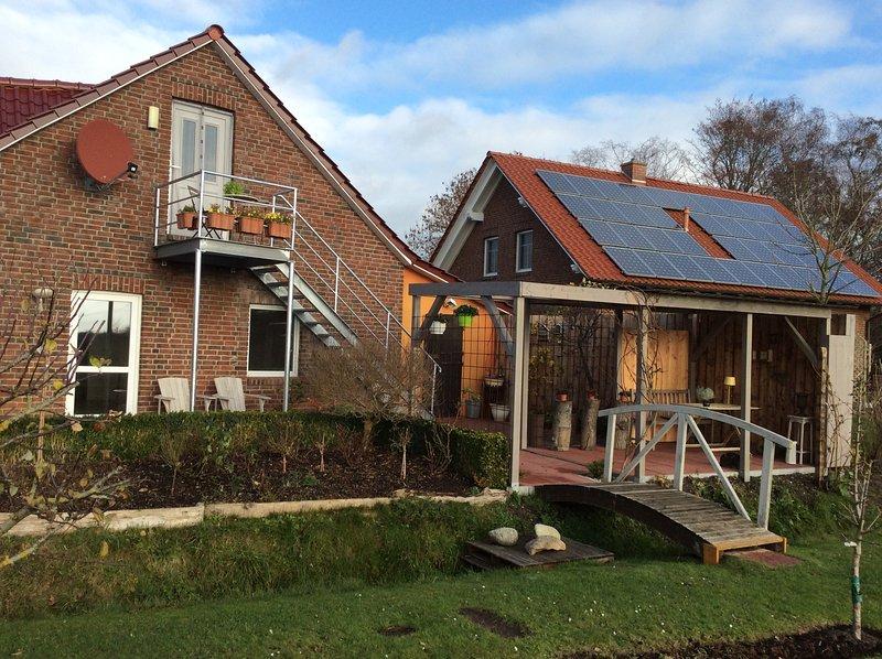 Ferienwohnung Dellarte, Großheide Süd Arle, location de vacances à Grossheide