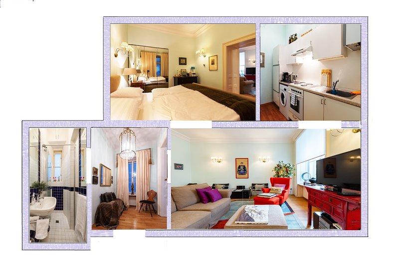 65 msq apartment at a mezzanine floor