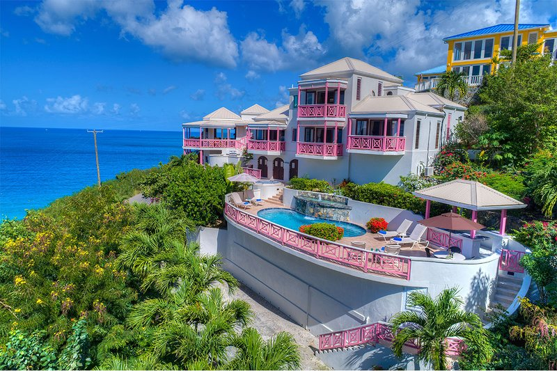 Sunset House offering 1 free night with weekly booking in 2020/2021 All new pics, holiday rental in British Virgin Islands