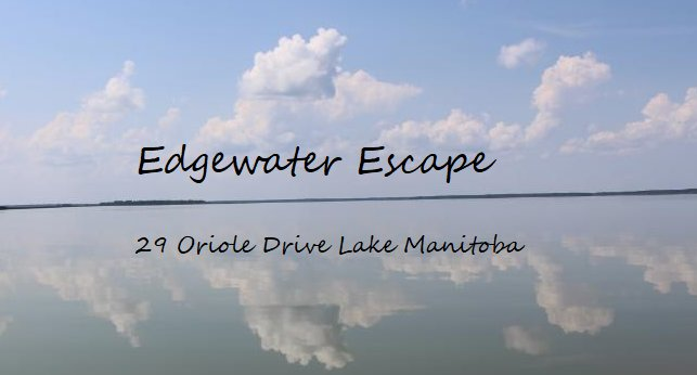 2 hrs from Winnipeg Lakefront Cottage Cabin Edgewater Escape MB Lake Manitoba, location de vacances à The Narrows