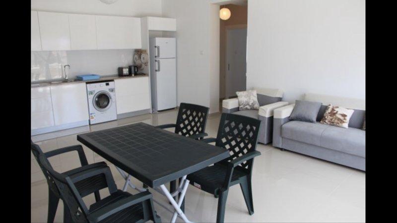 Large 2 bedroom apartment - 5 minute walk to beach, holiday rental in Trikomo
