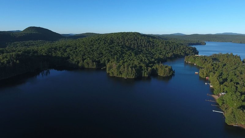 Camp Loon is located on 6th Lake, Inlet NY