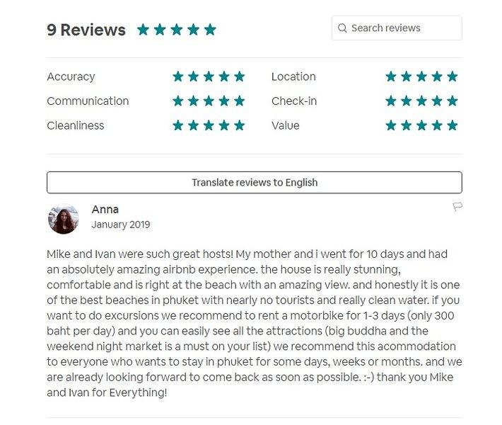 Siamo nuovi a Tripadvisor. Qui ci sono le recensioni di Airbnb.