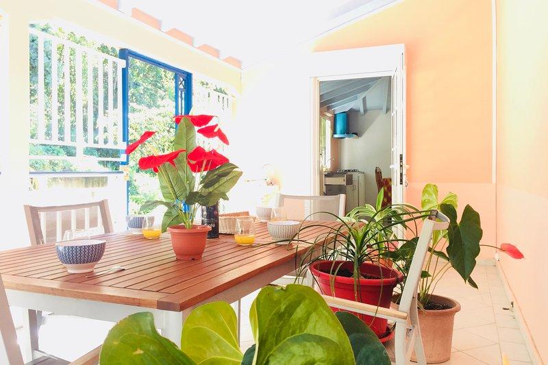 Spacious 2 Bedroom Apartment, Large Terrace, Beach 5 mins., casa vacanza a Marigot