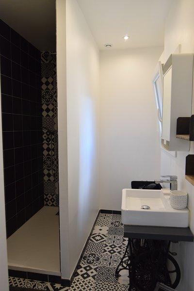 Cuarto de baño en el primer piso