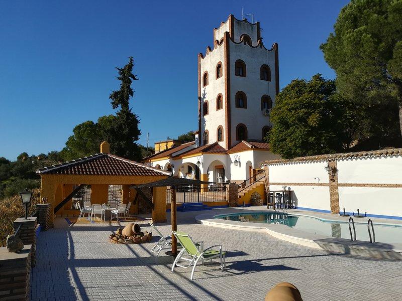 B&B Hacienda Rural San Ignacio, room Azul, casa vacanza a Rivero de Posadas