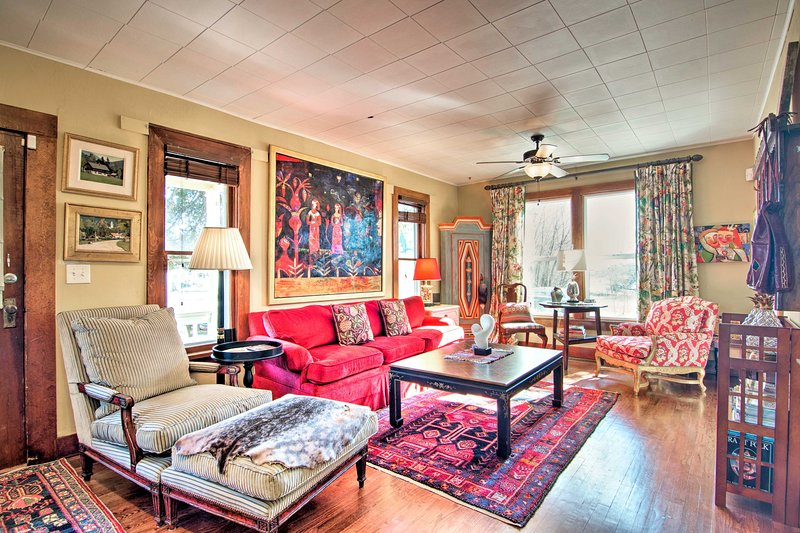 Historic Home w/Patio--Near Downtown Loveland, vacation rental in Loveland