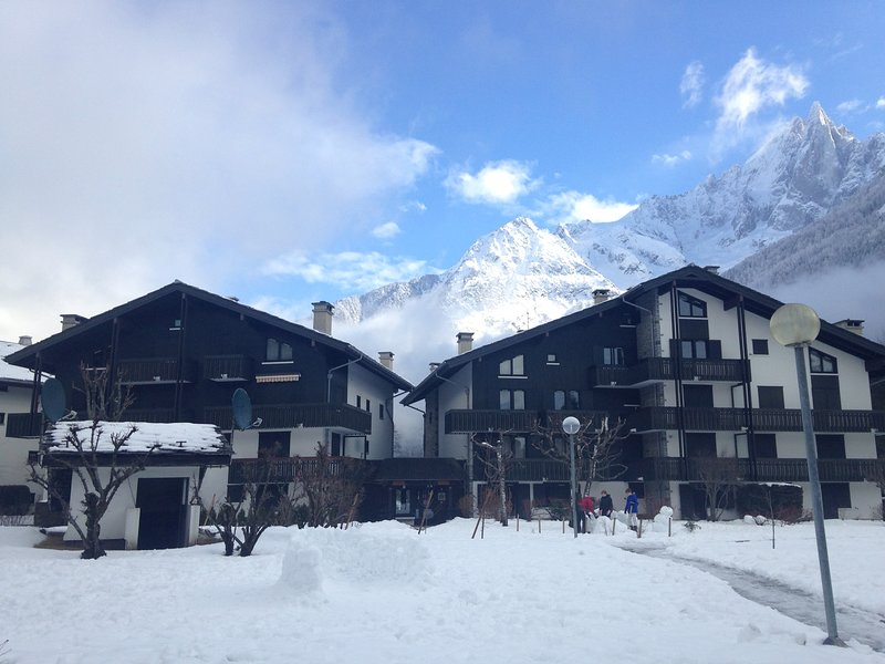 Nice apartment with mountains view, holiday rental in Les Praz-de-Chamonix