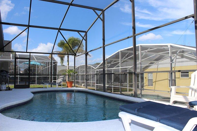 Bela 4 quartos, 2 banho villa perto da Disney